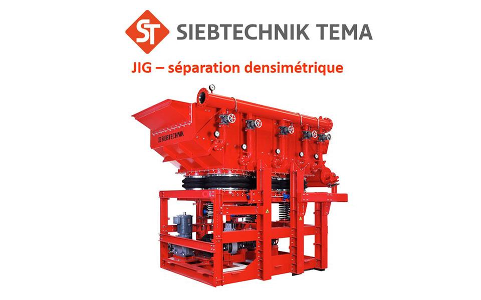 Séparateur densimétrique JIG Siebtechnik